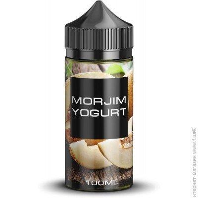 Жидкость для электронных сигарет MORJIM YOGURT 3 мг 100 мл (Йогурт с дыней)  цена 147209749ad